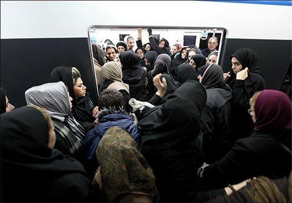 مشکل برق در خط 4 متروی تهران، سرویس دهی را با اختلال روبرو کرد