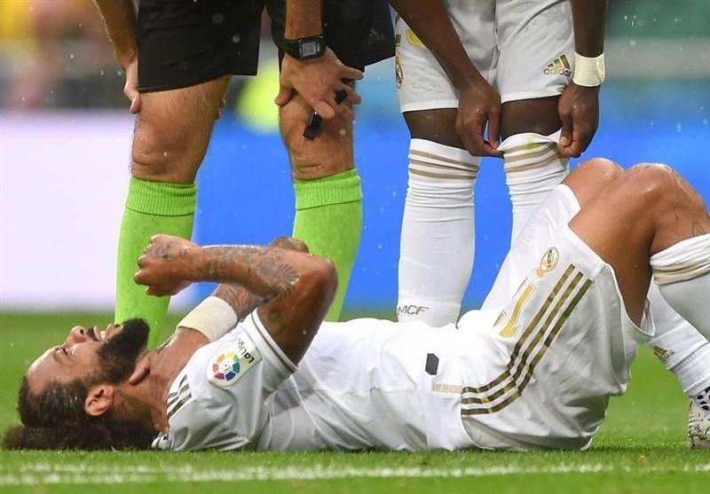 دردسری دیگر برای زیدان؛ مارسلو بازی رئال مادرید - پاری سن ژرمن را از دست داد