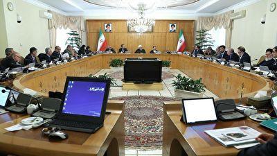تاکید رئیس جمهور بر نشاط سیاسی در ماه های آینده در جلسه هیئت دولت