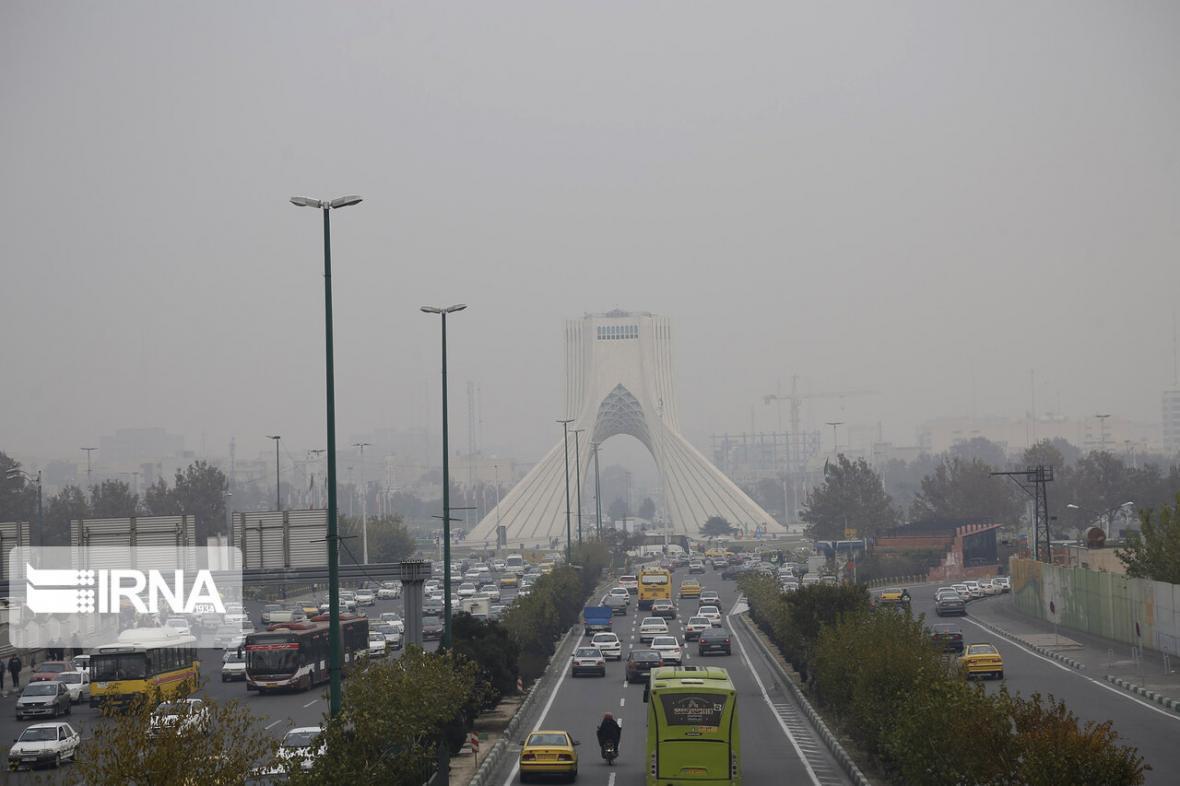 خبرنگاران کیفیت هوای تهران برای گروه های حساس ناسالم است