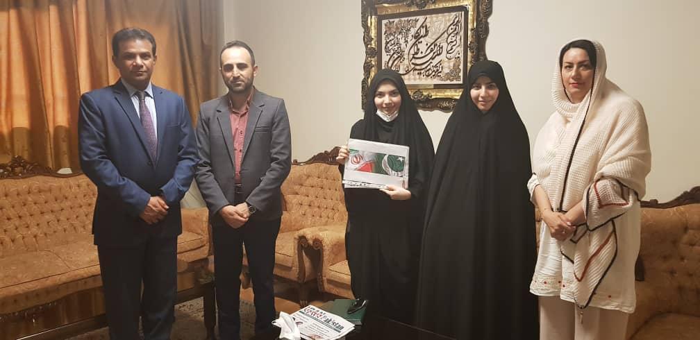 اعضای اتحادیه انجمن های اسلامی دانشجویان مستقل با رایزن فرهنگی پاکستان دیدار کردند