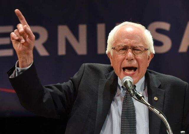 سندرز: هیچکس به اندازه ترامپ به دموکراسی آمریکا ضربه نزد