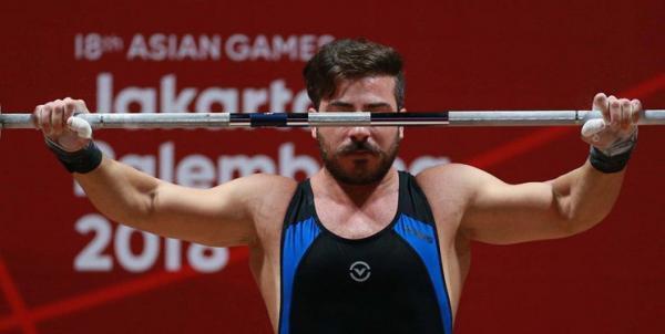 وزنه برداری قهرمانی آسیا، رستمی طلایی شد ولی به المپیک نرسید