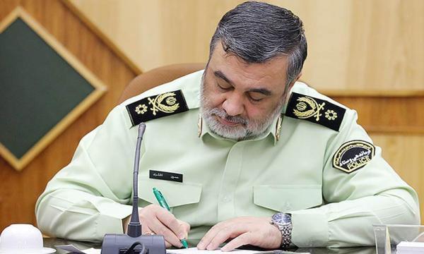 فرمانده نیروی انتظامی در پیامی فرارسیدن هفته سلامت را تبریک گفت