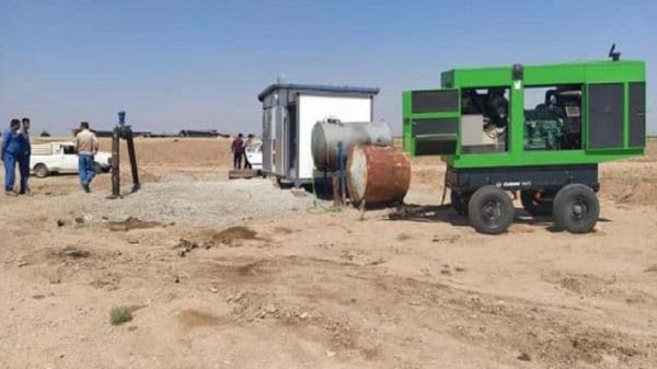 رفع کمبود آب آشامیدنی شهر دانسفهان