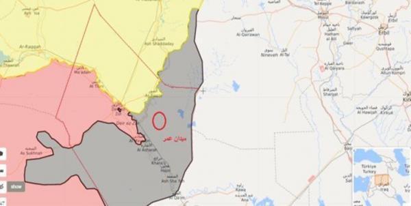 حمله راکتی علیه مواضع آمریکا در دیرالزور سوریه