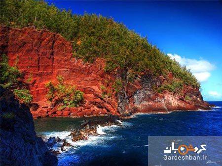 جاذبه گردشگری ساحل سرخ در هاوایی، تصاویر