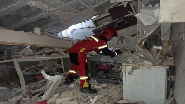 انفجار گاز در قلعه چنعان شهرستان کارون، 5 نفر کشته و مصدوم شدند